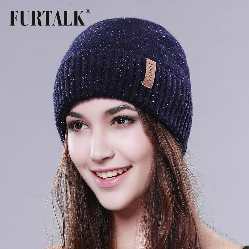 Furtalk Wool Hat Warm Winter Women Hat Fashion For Winter Brand Beanie Hats  Bucket Hats From Jutie 575445a35e4