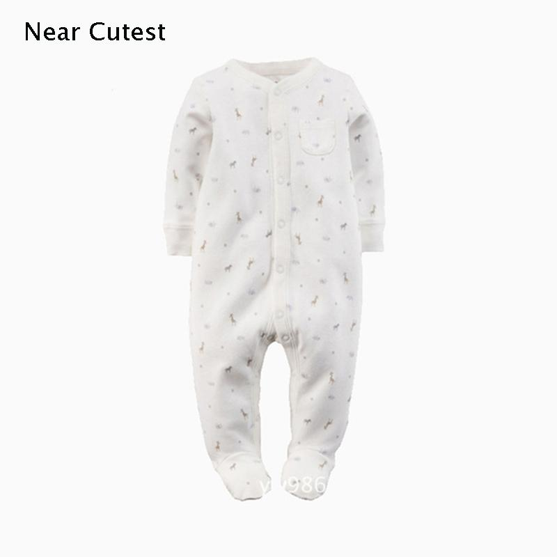 324c75ad6336 Near Cutest Baby Romper 2017 Autumn Winter Cotton Long Sleeve Baby ...