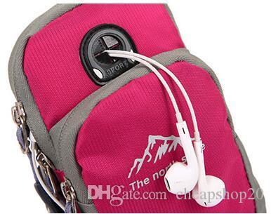 Männer Frauen Multifunktions-Outdoor-Tasche Sport Arm Gürtel Laufen Reiten wasserdichte Arm Tasche