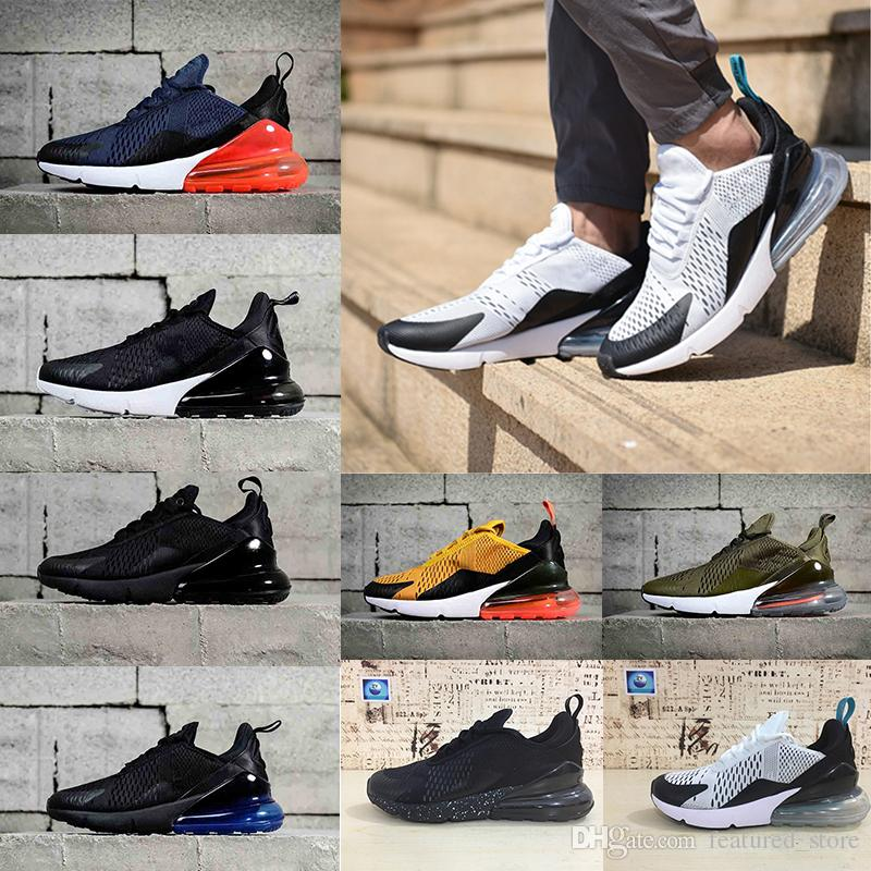 With box Newest 270 Running Shoes Men Hot Punch Triple Black Midnight Navy Blue Man Sport Shoes Photo Blue Athletics Sneakers Eur 40-45 2014 newest sale online sale supply 7j3iZfAO