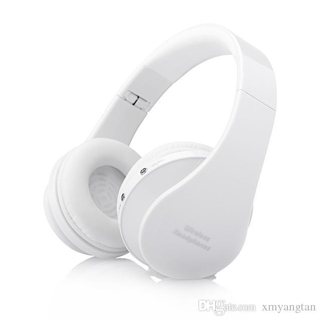 Складная беспроводная гарнитура Handsfree Stereo Наушники Casque Audio Bluetooth-гарнитура Беспроводные наушники для компьютера PC Head Phone Set