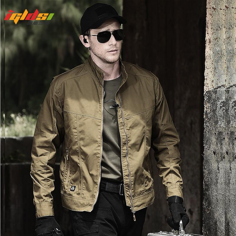 Style Field Tactical Jacket Men Waterpoof SWAT Combat Army Jackets New 2018 Spring Autumn Casual Bomber Pilot Coats 2XL
