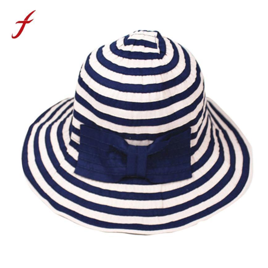 4c9ea531 2018 Fashion Women Hats Foldable Large Brim Crochet Summer West Cowboy Hot  Sale Women's Cap satellite Sun Hat UV Beach Cap Youth