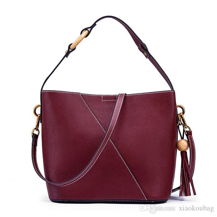 Designer Handbags 2018 Brand Fashion Luxury Designer Bags Ladies Bucket  Black Leather Crossbody Handbags Shoulder Bags For Women Designer Handbags  Handbag ... fe50f2e36f830
