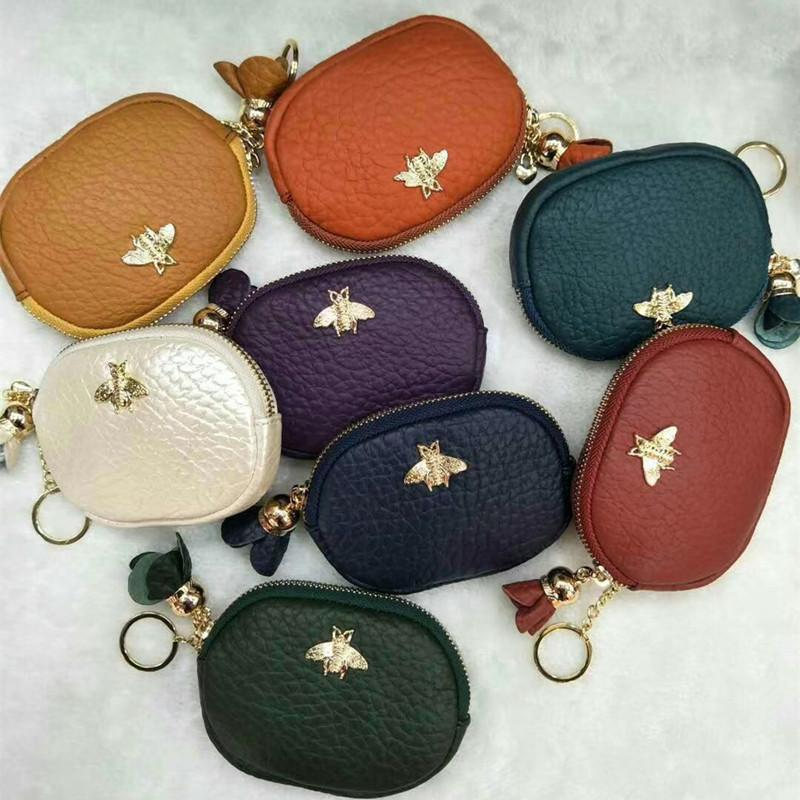 c6e7255b708b Monederos Para Mujer Monedas 2018 Cute Mini Leather Short Purse ...
