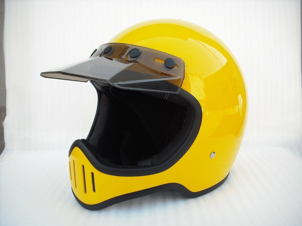 Dirt Bike Helmet With Visor >> Dot Full Face Motorcycle Helmet With Visor Custom Retro Dirt Bicycle Bike Helmet Fiberglass