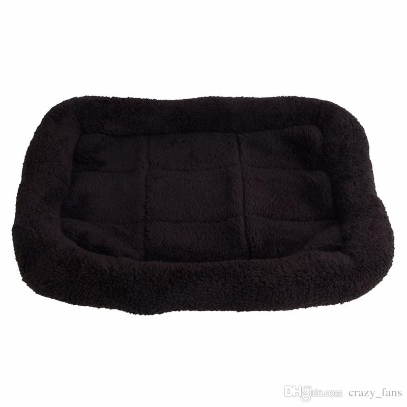 Black Comfortable Pet Dog Bed Sleep Warm Teddy Cat Puppy Sofa House Mat For Dogs Blanket Cushion Puppy Supplies
