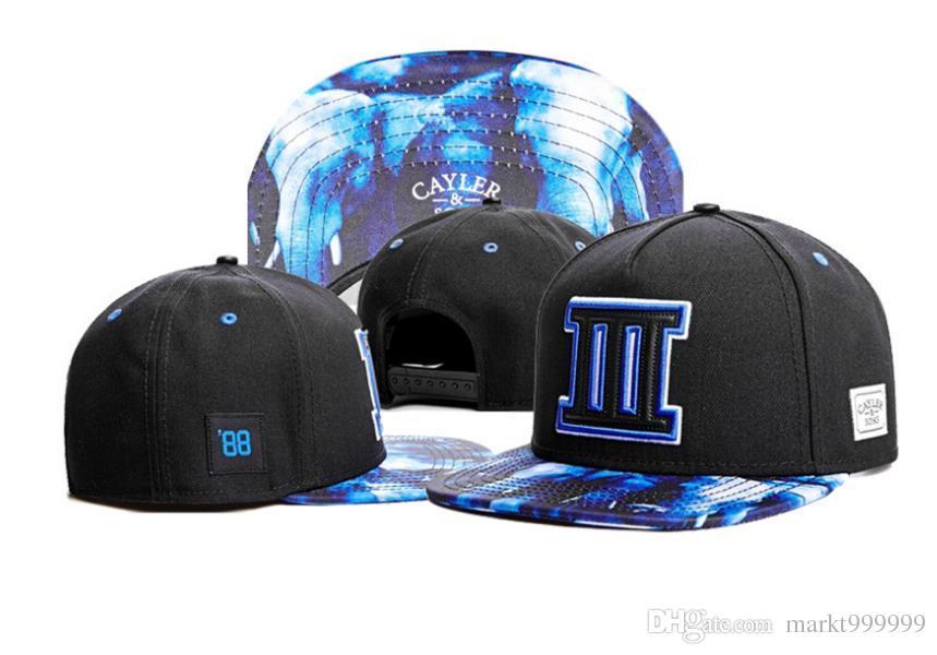 Snapbacks Ball Hats Fashion Street Headwear adjustable size Cayler & Sons custom football baseball caps drop shipping top quality