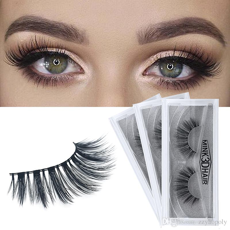 a89d81a8a76 Yaopoly Mink Lashes 3D Mink Eyelashes Private Label Natural False Eyelashes  Handmade Fake Eye Lashes Extension For Beauty Makeup Permanent Eyelashes  Red ...