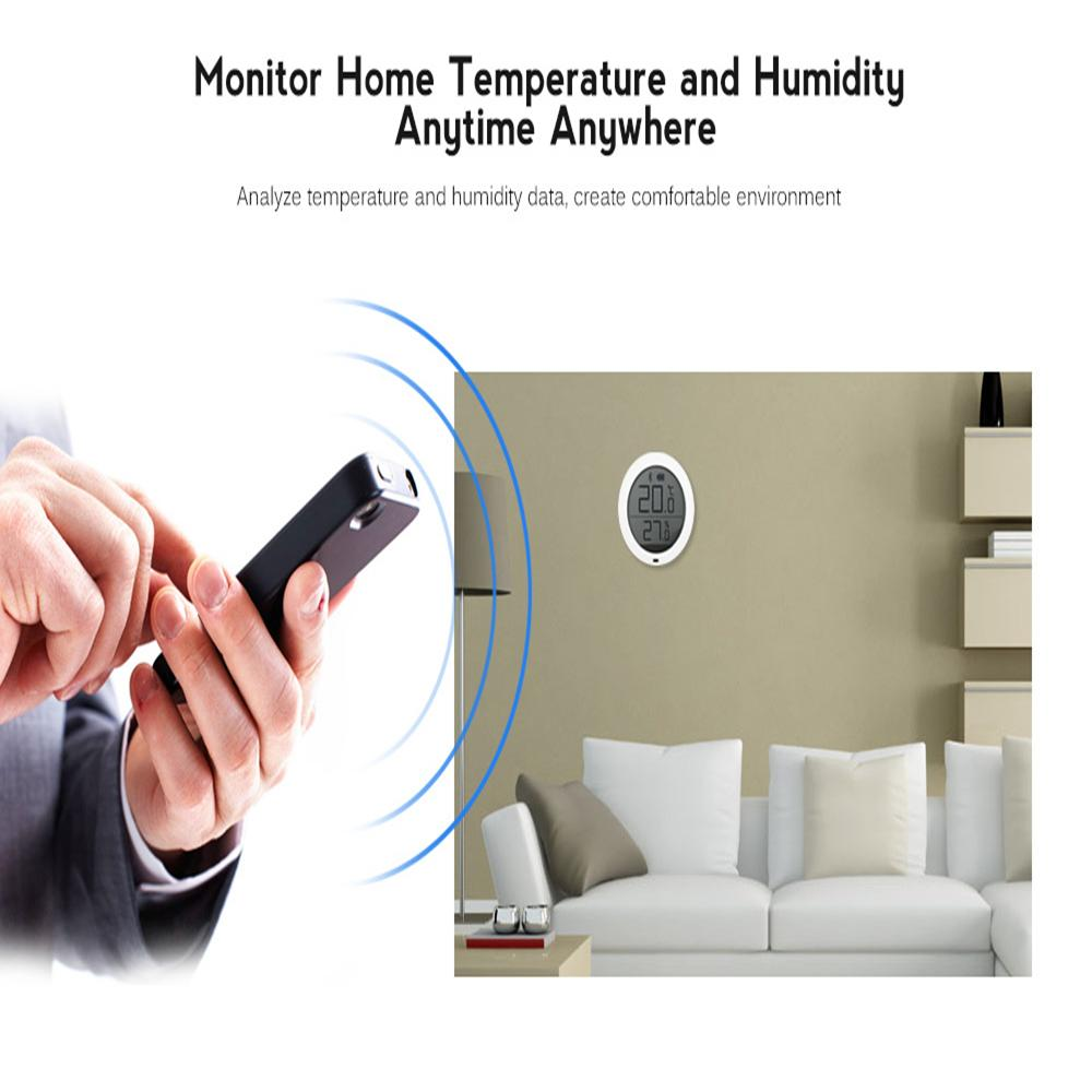 Mart Home Xiaomi Mijia Smart Thermostat Accuracy Temperature How To Control An Electric Fan With A Factory Thermoswitch Apps Digital Wireless Bluetooth Humidity Sensor Meter Work On App Bat Controller