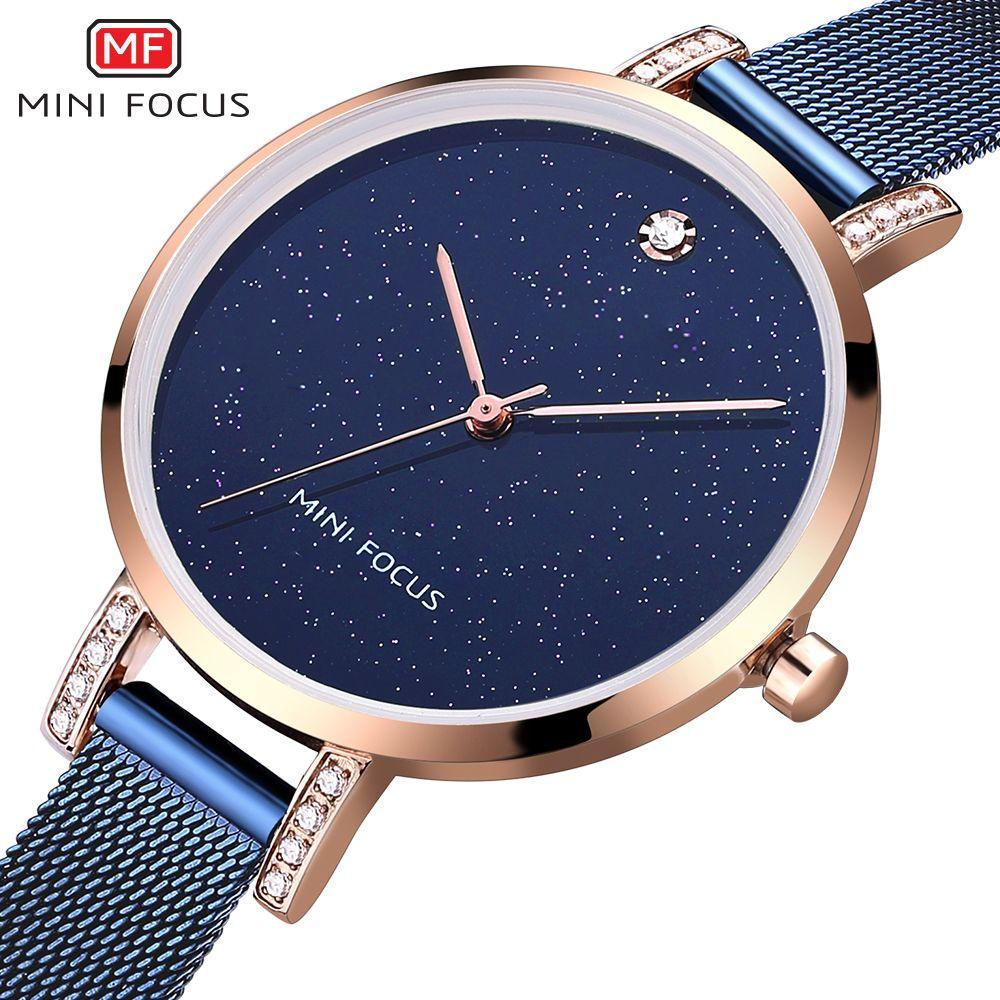 bf487e81d2e Compre Top Marca De Luxo Mulheres Relógio De Marcas Famosas Azul Dial Design  De Moda Pulseira Relógios Senhoras Mulheres Relógios De Pulso Relogio  Femininos ...