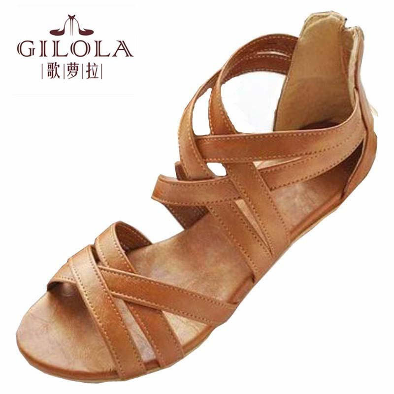 5cf06dc4957b9 GILOLA New Women Sandals Women Shoes Spring Summer Shoes Black Brown Best  Quality #Y0508616F Reef Sandals Gold Shoes From Bking, $23.16| DHgate.Com