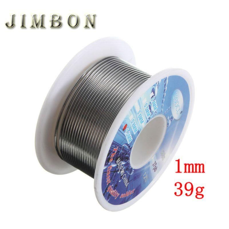 Tin Solder Core Flux Welding Wire Diameter 1mm Rosin Lead Roll Soldering 40g