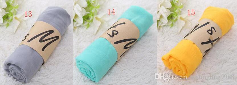 Women Solid Sarong Scarves Beach Plain Silk Scarf Cotton Linen Sunscreen Shawl Soft Wrap Long HeadScarf Beach Scarf Fashion Pashmina