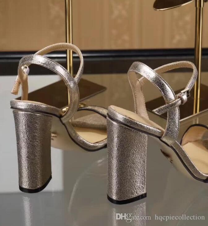 2019 nouvelles chaussures en daim noir arrivée sandales en cuir haut de talons mode femme douce dame occasionnels talons en plein air de grande taille 42 41 40 vert