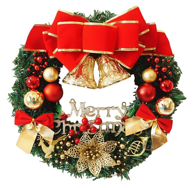 funpa christmas ttree wreath 118 inch special christmas ornaments door decoration wreaths decorations of christmas decorations with christmas ornaments