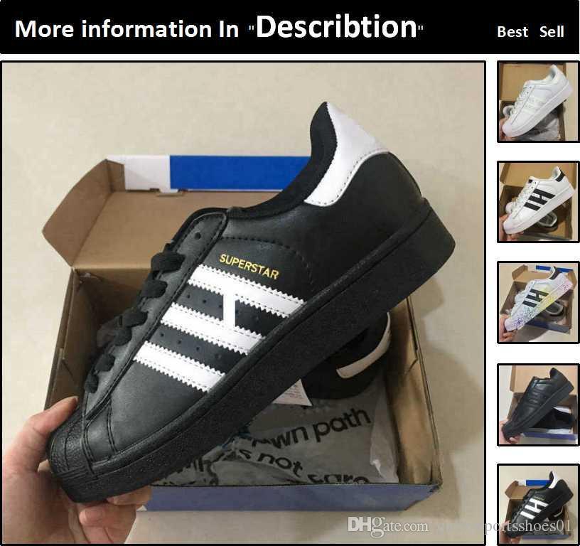 Neueste Designs adidas Superstar Schuhe Weiß, hohen Rabatt