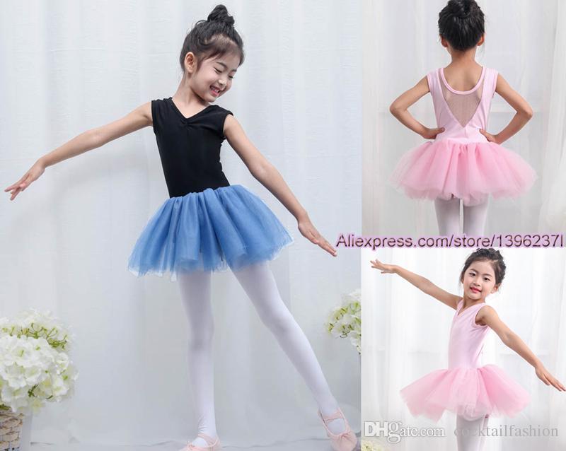 52d1b29a4fa9 Ballet Dance Tutu Children 2018 New Design Sleeveless Practice ...