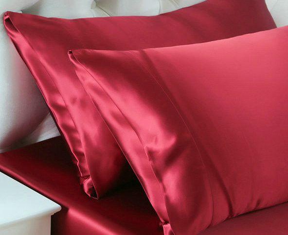 Envelope Style Double Face Luxury Silk Pillowcase Satin Pillow Cover Extraordinary Envelope Style Pillow Cover