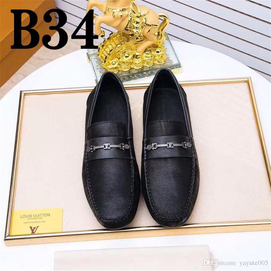 00bfbc68b8a2 Spring Autumn Men Black Loafer Shoes Trendy Nubuck Leather Slip-on ...