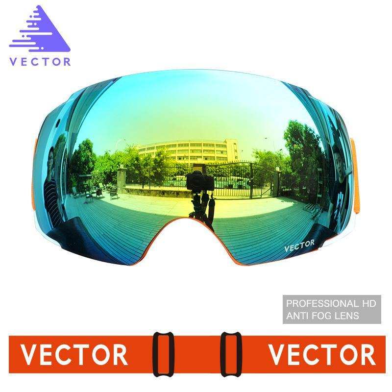 07538f090ac3 2019 Men Women Double Lens Anti Fogging Large Sphere Windshield Goggles  Outdoor Climbing Skiing And Snowboarding Glasses From Sunnystars