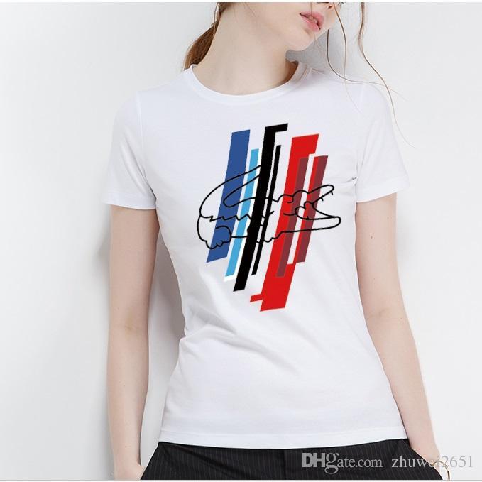 2018 Summer New Arrival Designer Girl Shirt Fashion Brand T Shirt