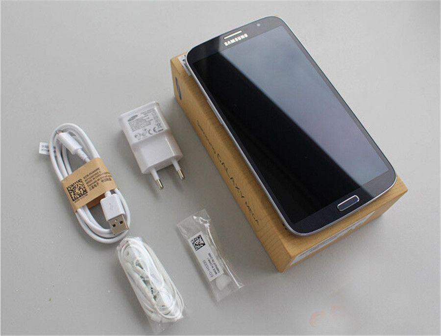 تجديد الأصلي سامسونج غالاكسي ميجا 6.3 i9200 6.3 بوصة ثنائي النواة 1.5 جيجابايت ذاكرة 16 جيجابايت rom 8mp 3 جرام مقفلة الهاتف المحمول الذكية الشحن dhl 5 قطع