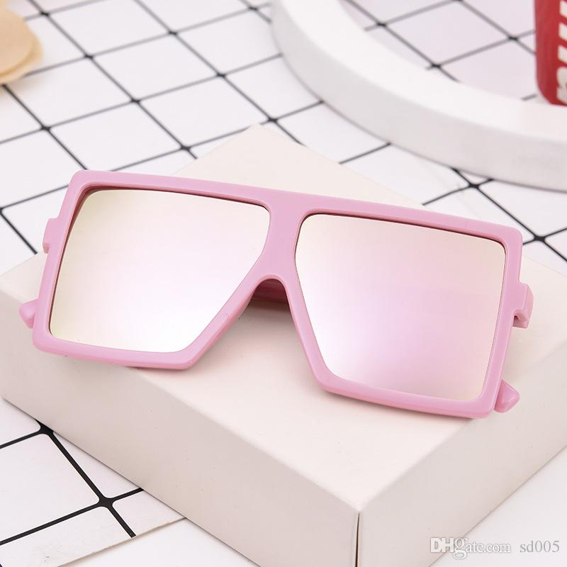 Plastic Korean Style Kids Sun Glasses For Photography Pose Props Ultraviolet Proof Boys And Girls Fashion Sunglasses Hot Sale 4zm Z