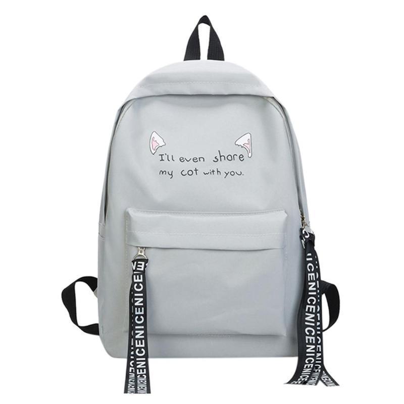 b1b9a673d915 2019 Fashion MOJOYCE Women Simple Casual Nylon Zipper Backpacks Rucksack  Travel Bag Teen Girls Student Big Capacity Shoulder School Bags Cheap  Backpacks ...