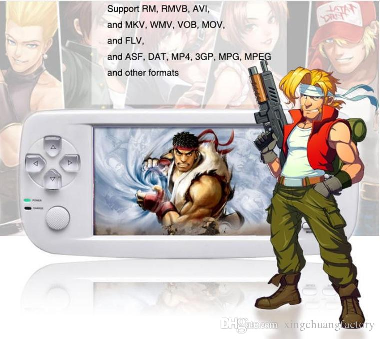 PAP KIII Retro Mini Oyun Konsolu Dahili Klasik Oyunlar 16G 4.3