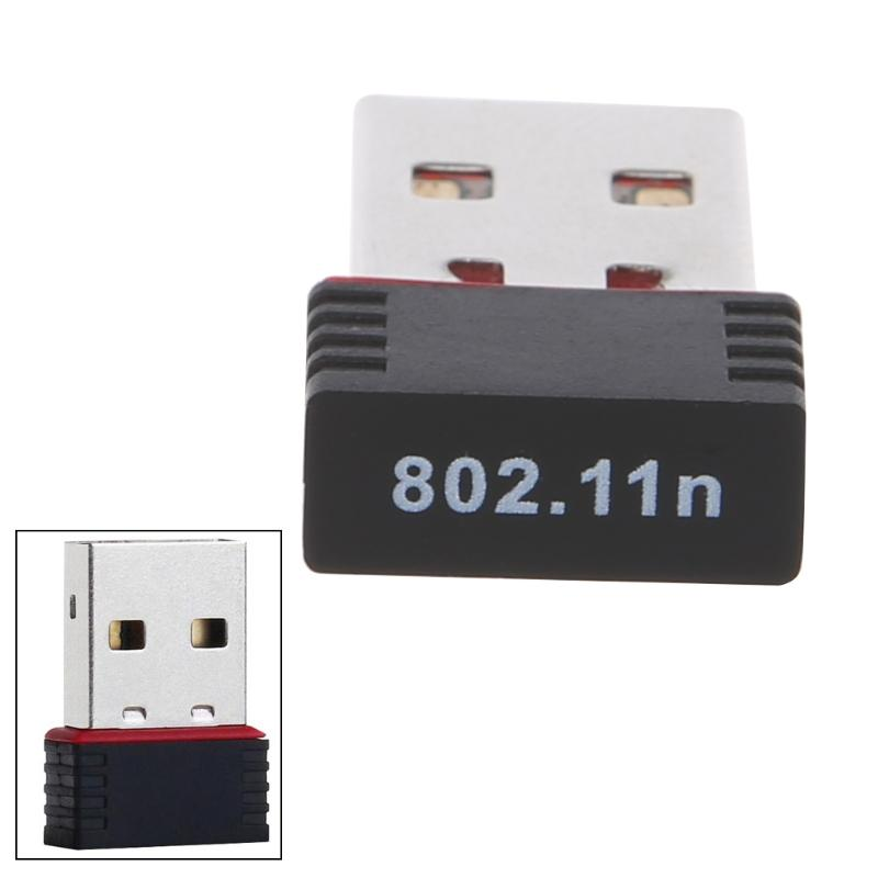 2018 New Mini 150Mbps USB 2.0 WiFi Wireless Adapter 150 Network LAN Card 802.11 ngb Ralink MT7601 for Smartphone Win Xp/7/8