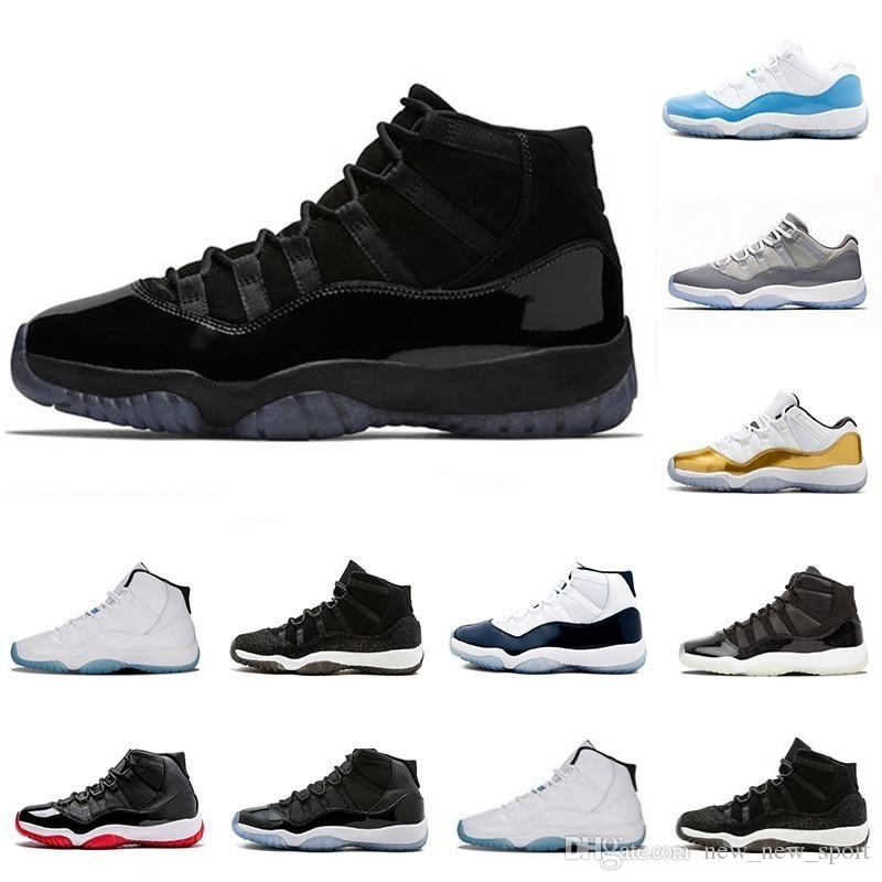 62452bd413f8 2018 Prom Night XI 11s 11 Cap And Gown Men Women Basketball Shoes ...