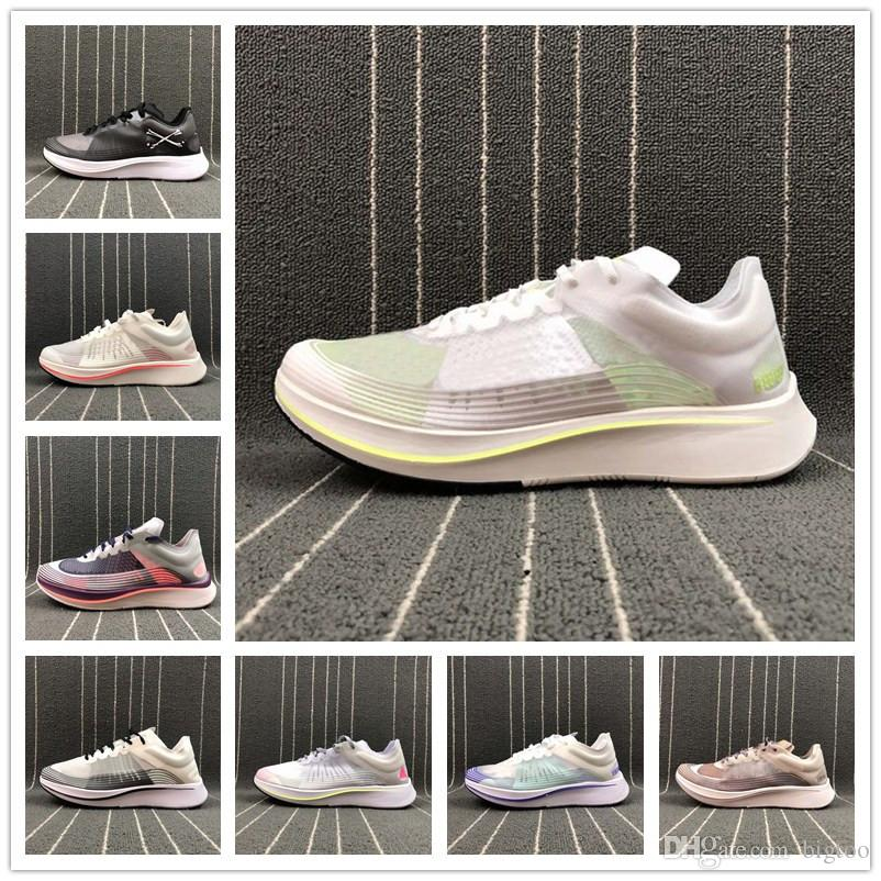 ed2bce81ca34 2019 2018 Sale Zoom Fly SP BETRUE CELEBRATE THE CHAS New Basketball Shoes  2018 Vaporfly QS Breaking2 NYC Brand Sneakers Sports Shoes US7 11 5 From  Bigtoo