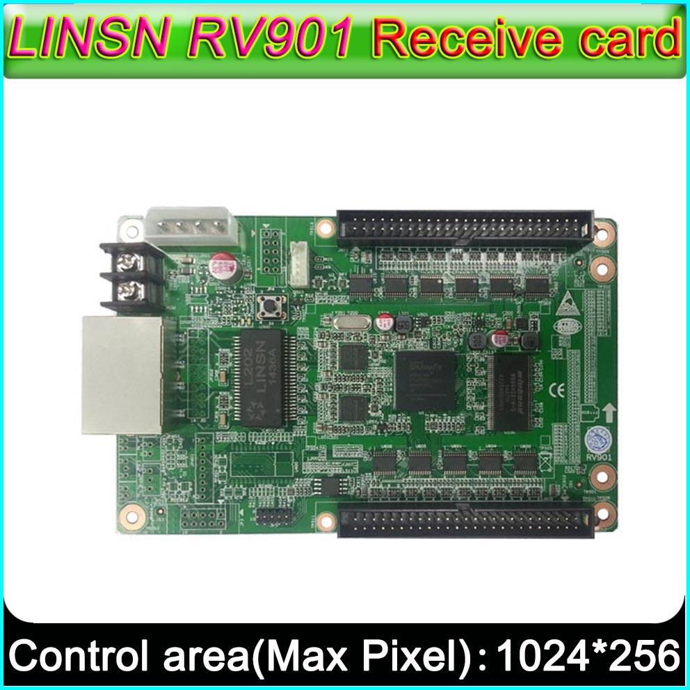 2018 Full Color Led Display Screen Controller Linsn Rv901 Receiving Board Circuit Card Universal Interface Suitable For All Kinds Of Hub From Roberte