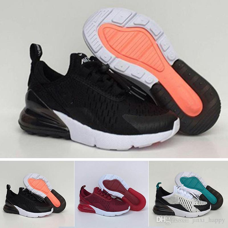 Acquista Nike Air Max 27c Scarpe Da Ginnastica A Prezzi Economici Infant  270 Kids Nero Bianco Dusty Cactus 27c Scarpe Da Ginnastica All aperto  Bambino ... 4620cb6d847