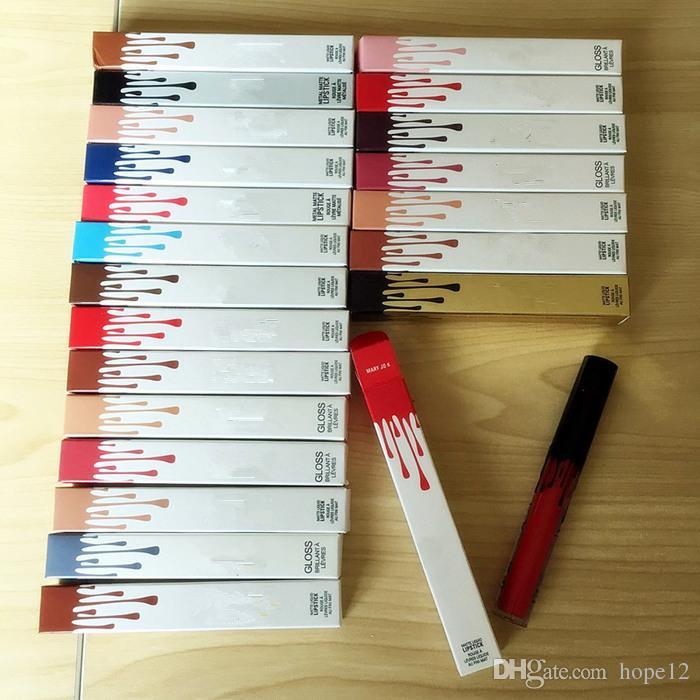 Stokta 22 renk Sıvı Mat Ruj Dudak 22 renk tarafından Yüksek Kaliteli ücretsiz kargo