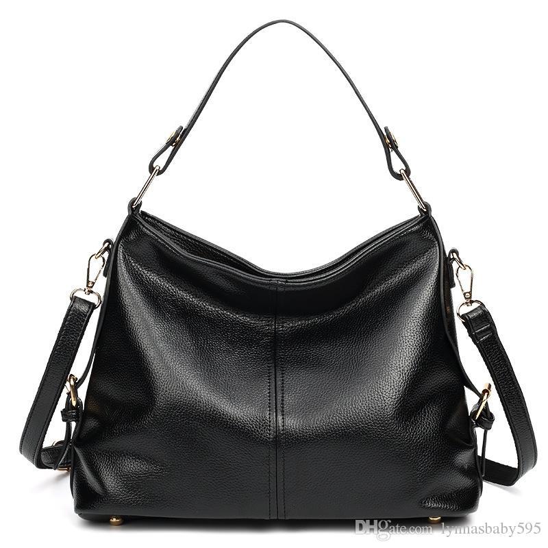 ad28b5765218 Crossbody Bags for Women 2018 New Lychee Pattern Handbags Solid ...