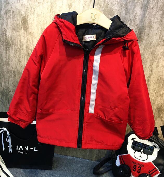 5ebb7426d46b Baby Boy Clothes Autumn Boy Fashion Hooded Jackets Christmas Outwear ...