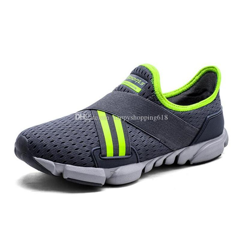 6149c4f03711 2018 Summer New Men Casual Shoes Sneakers Breathable Comfortable ...