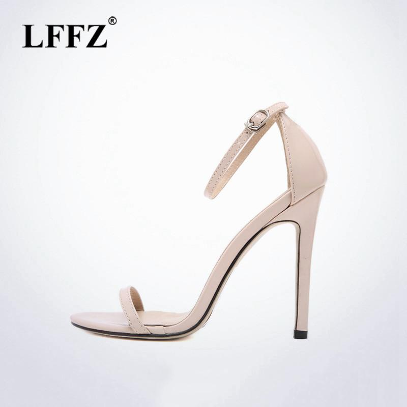 Grosshandel Lzzf Classics Sexy Frauen Rot Hochzeitsschuhe Peep Toe