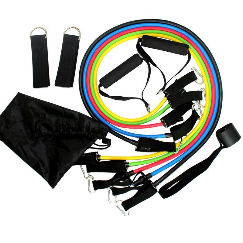 Acheter   Set Résistance Bandes Exercice Set Fitness Tube Yoga Pilates Latex  Tubes Expandeurs Exercice Rubber Tubes Fn De  27.96 Du Shanquanwat  8e54a85aa4d