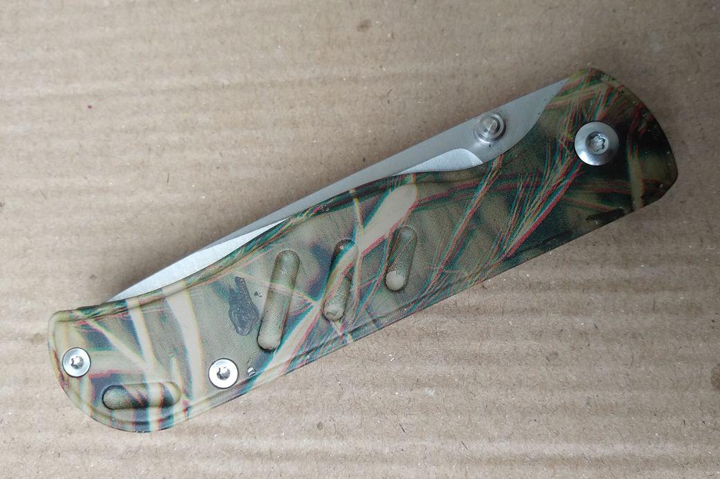 Enlan M021CA 8Cr13MoV Steel Blade Aluminum Handle EDC Pocket Classic Outdoor Survival Folding Knife Fishing knife