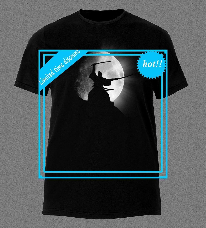 T Shirt Overhemd.Samurai 47 Ronin Ninja Japan Catana T Shirt Fashion T Shirt Tee