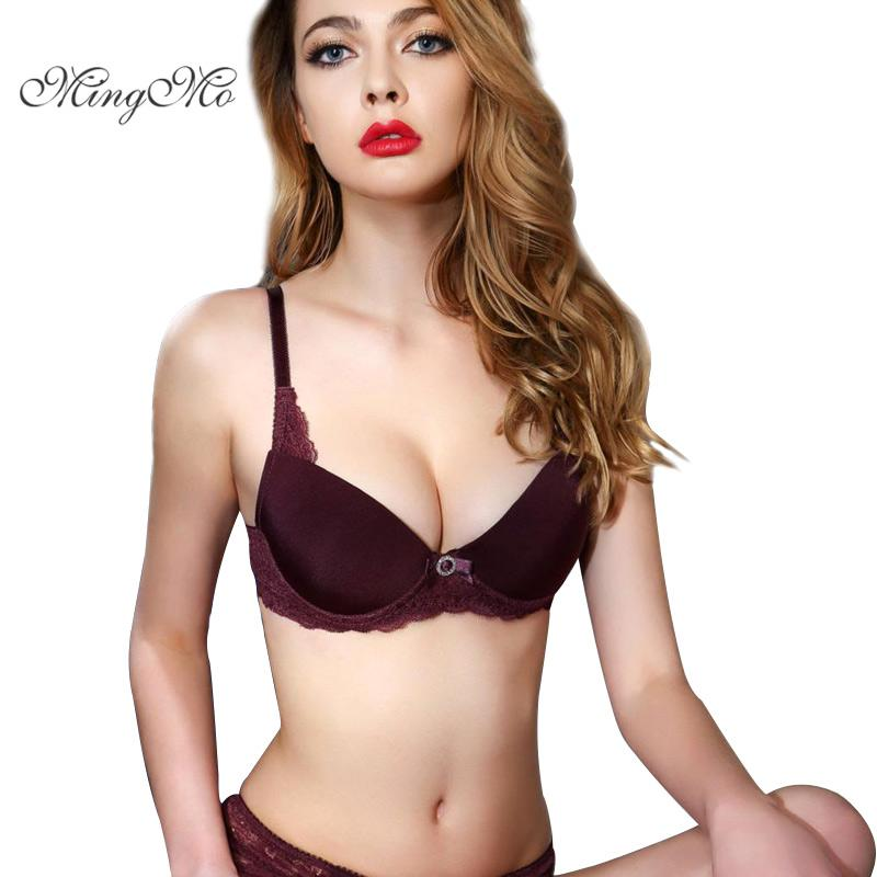 6b55669d90 2019 2017 Popular Fashion Bra Set 3 Breasted Glossy Lace Bra Sexy Underwear  Women And Panties Set From Dayup