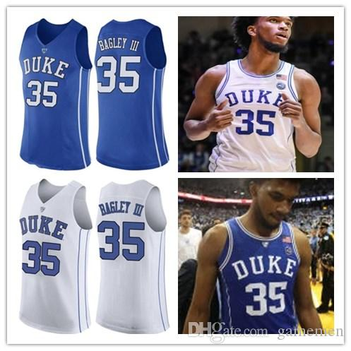 139a4f76d913 2019 Marvin Bagley III Jersey Duke Blue Devils Trevon Duval 2018 NEW Royal Blue  White Round Neck Collar Stitched NCAA College Basketball Jerseys From ...
