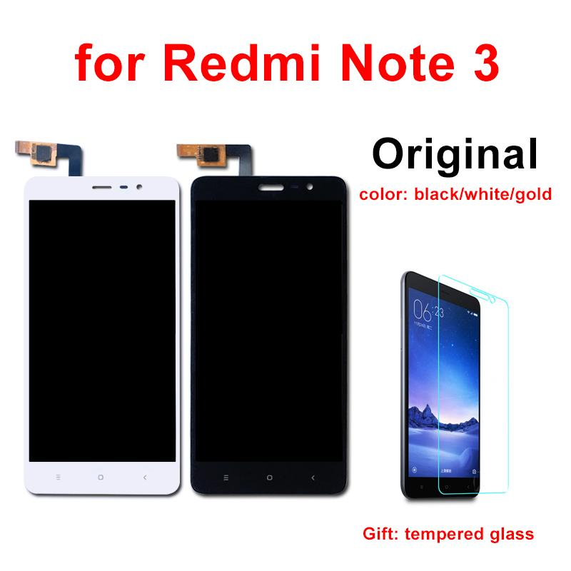 for Xiaomi Redmi Note 3 LCD Original Display Touch Screen with Frame 5 5  inch 150mm for Redmi Note 3 Pro LCD