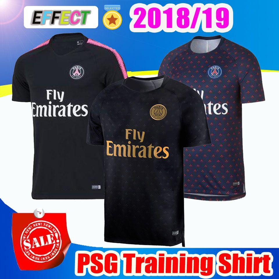 f65495cc90812 2019 2018 PSG Soccer Training Shirts 18 19 MBAPPE Soccer Jerseys CAVANI  Survetement 2019 Paris Saint Germain Football Shirts Maillot De Foot From  ...
