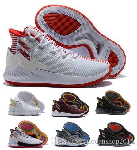 6534be27a58 Best D Rose 9 Air Basketball Shoes Mens Man Pink Derrick Rose 9s Designer  Runners 2018 Youth Classis Sport Boots Training Sneaker Shoe Shoes Jordans  ...