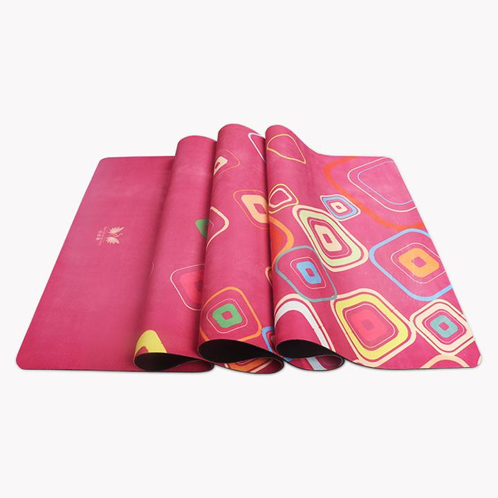 non workout pad from yoga mat natural in pilates sport fitness gymnastics brand for cork qubabobo slip item mats sports rubber pads gym exercise women