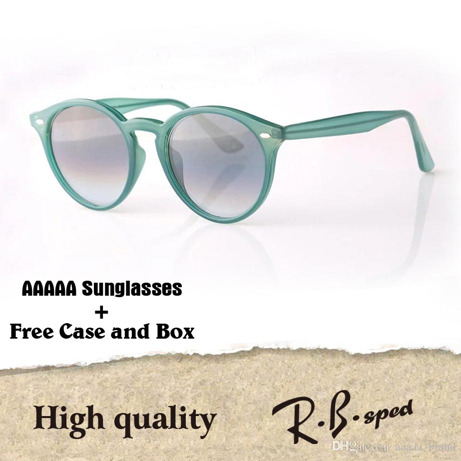 d01219db6d98 Wholesale High Quality Brand Designer Round Sunglasses for Men Women ...